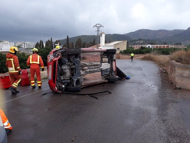 Accidente en Benifairo de les Valls