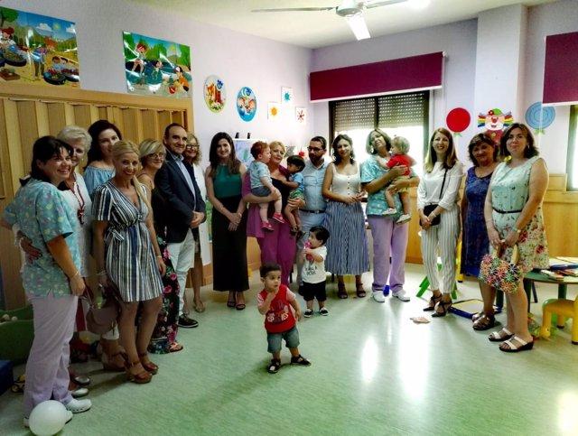 Inauguración del curso 2018-2019 del primer ciclo de Infantil.