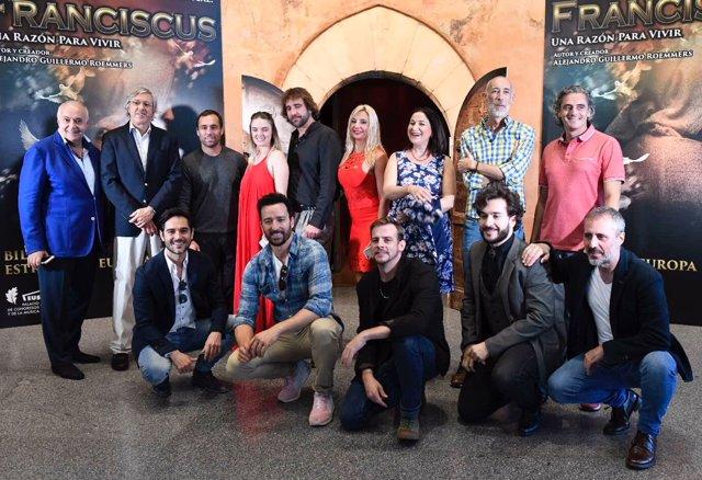 """Presentación del musical """"Franciscus: una razón para vivir"""""""