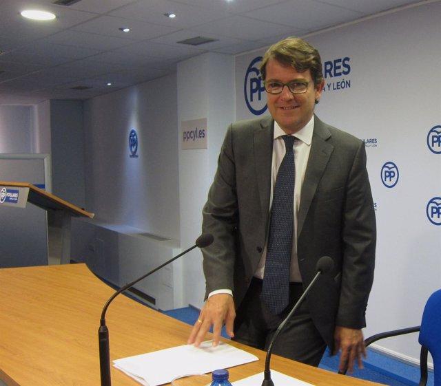 Alfonso Fernández Mañueco. 3-9-2018