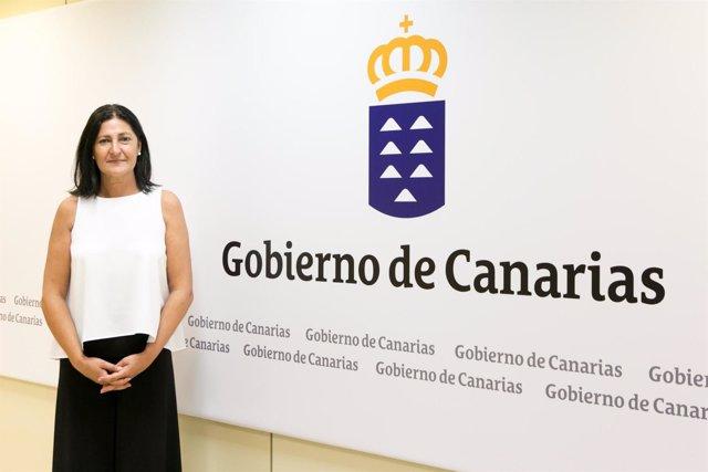 La directora general de Dependencia y Discapacidad de Canarias, Eulalia García