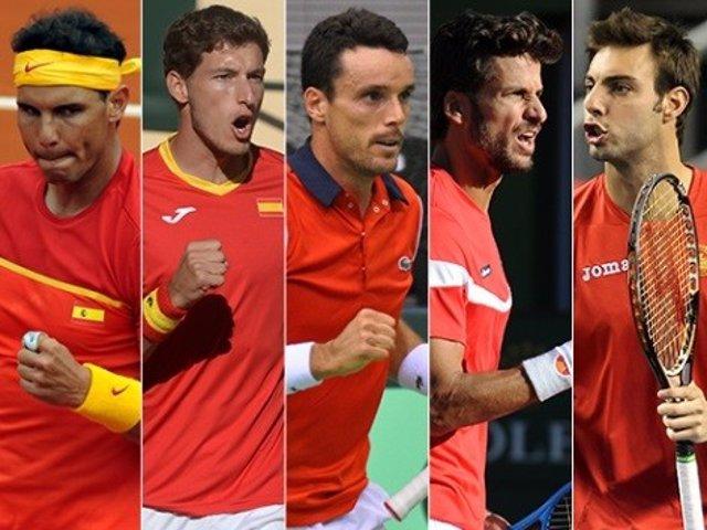 Nadal, Carreño, Bautista, Feliciano Y Granollers, Convocados Para La Copa Davis