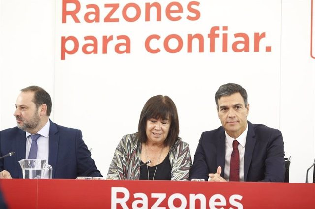 Pedro Sánchez en la Ejecutiva Federal del PSOE