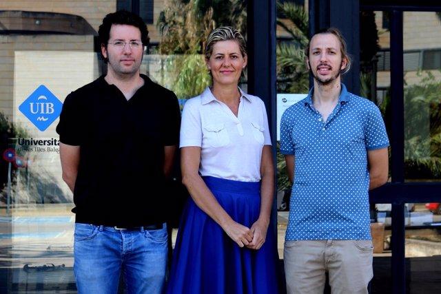 Equipo de investigadores de la UIB