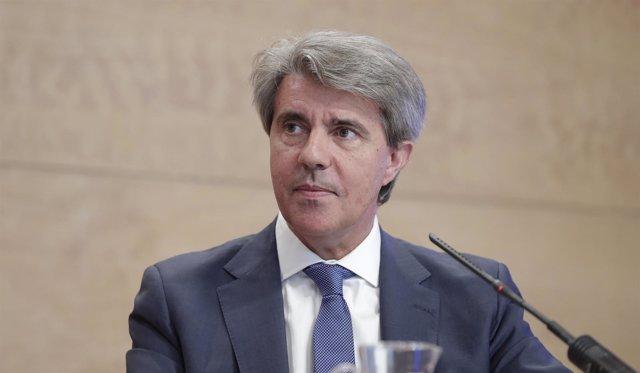 El presidente de la Comunidad, Ángel Garrido, en rueda de prensa