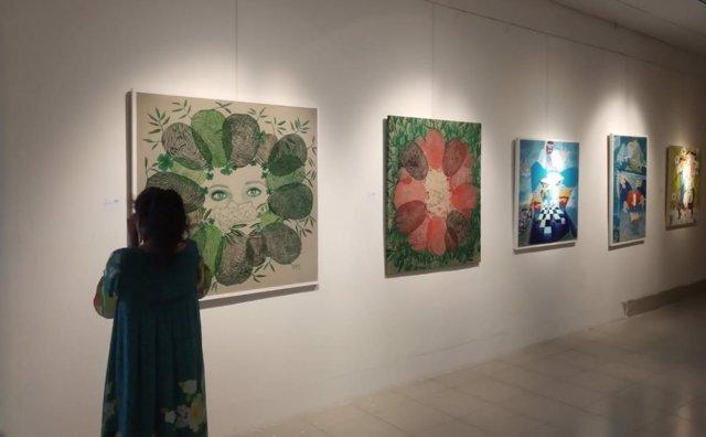 Victoria Cano exhibe obra en la Bienal de Asia de Bangladesh