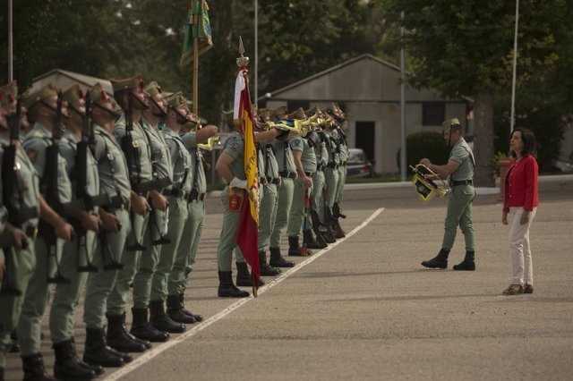 La ministra de Defensa, Margarita Robles, visita a la Legión en Ronda