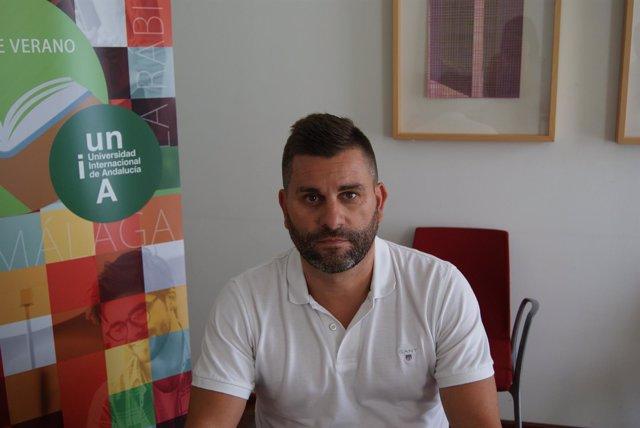 Antonio Martínez en los Cursos de Verano 2018 de la UNIA en Baeza.