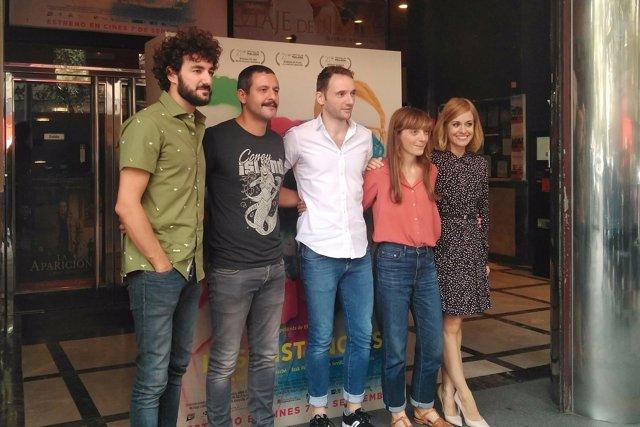 Elena Trapé, Alexandra Jiménez, Miki Esparbé, Bruno Sevilla e Isak Férriz