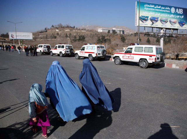 Ambulancias en Kabul