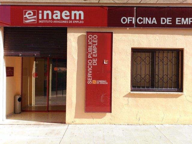 Oficina del INAEM en Alcañiz (Teruel)