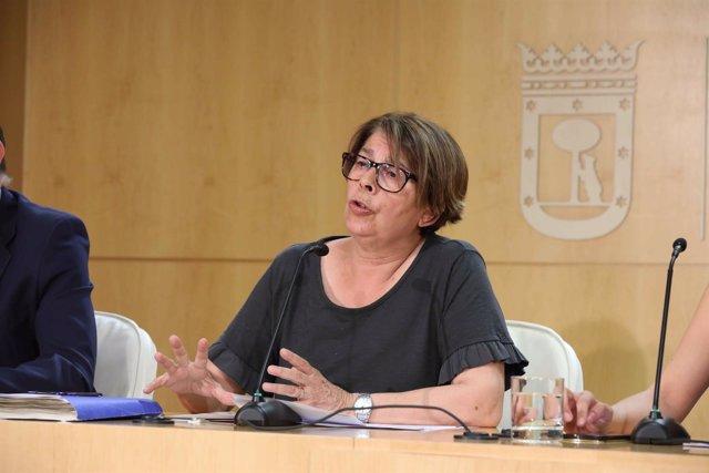 La delegada de Medio Ambiente del Ayuntamiento de Madrid, Inés Sabanés