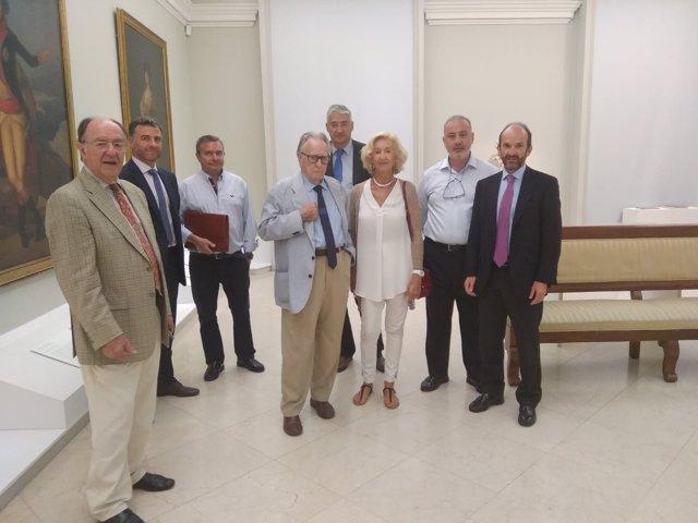 Comunidad de Madrid, Ayuntamiento y Canalejas en Real Academia de Bellas Artes