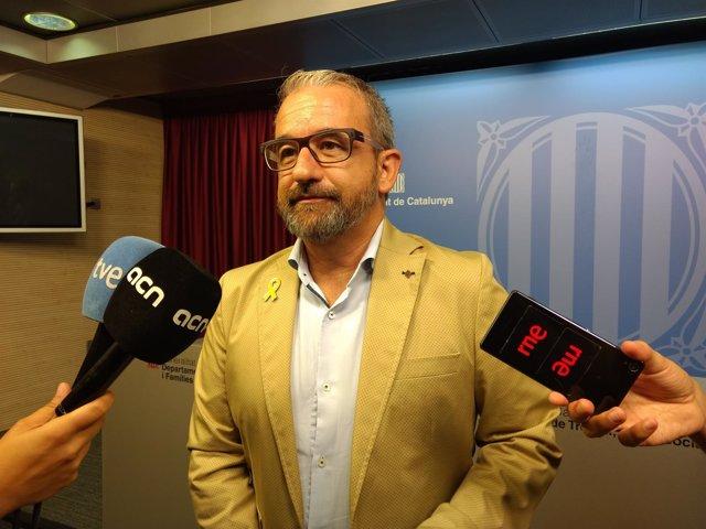 El secretario general de Trabajo de la Generalitat, Josep Ginesta