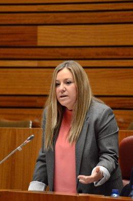 La parlamentaria de Cs Belén Rosado.