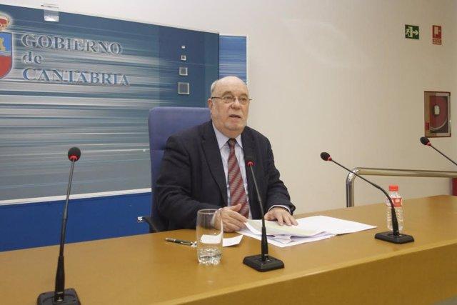 Juan José Sota, consejero de Economia de Cantabria
