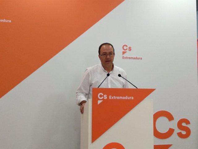 Rueda de prensa Cs Extremadura
