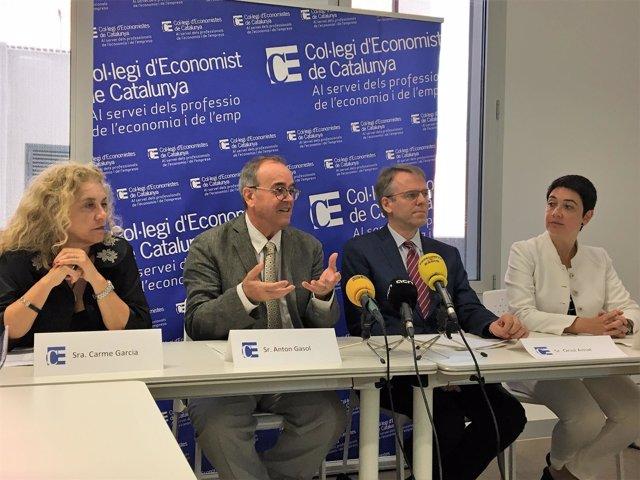 Carme Garcia, Anton Gasol, Oriol Amat y Elisabet Bach