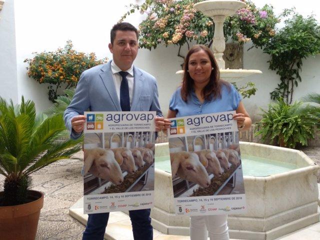 Carrillo y Castillo presentan la segunda edición de 'Agrovap'