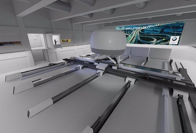 Centro de simulación de conducción de BMW en Múnich (Alemania)