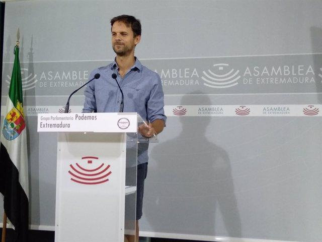 Alvaro Jaén. Rueda de prensa grupos parlamentarios