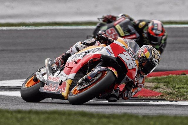 El piloto de MotoGP Dani Pedrosa (Repsol Honda)