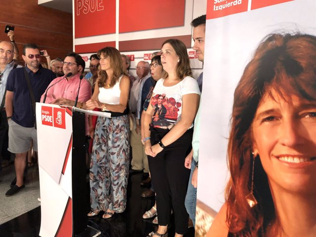 Dueso ha presentado su precandidatura junto a decenas de militantes del PSOE