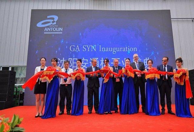 Grupo Antolin inaugura una nueva planta en Shenyang (China)