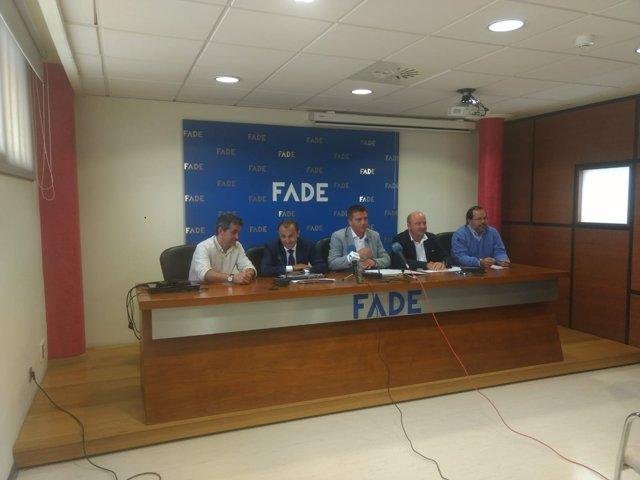 Mesa de turismo de la FADE.