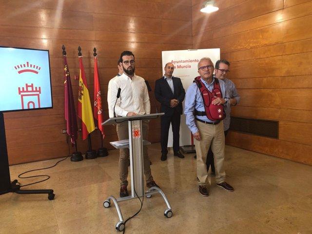 Presentación de la carpa 'SOS RESPIRA'