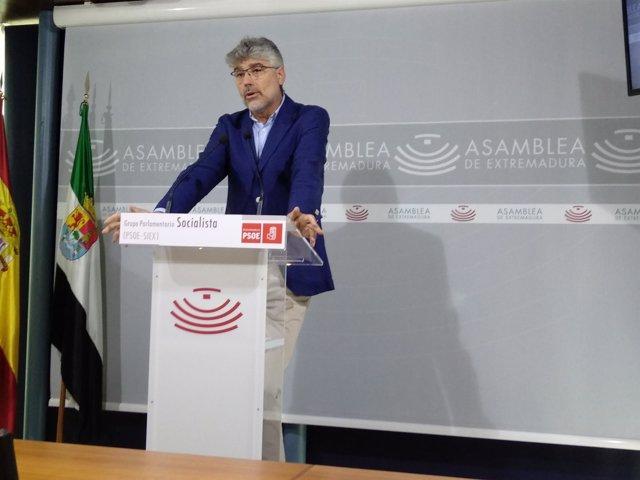 Valentín Garcia, Rueda de prensa grupos parlamentarios