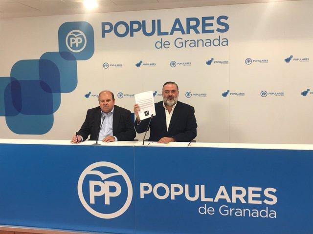 José Robles y Pablo García, del PP