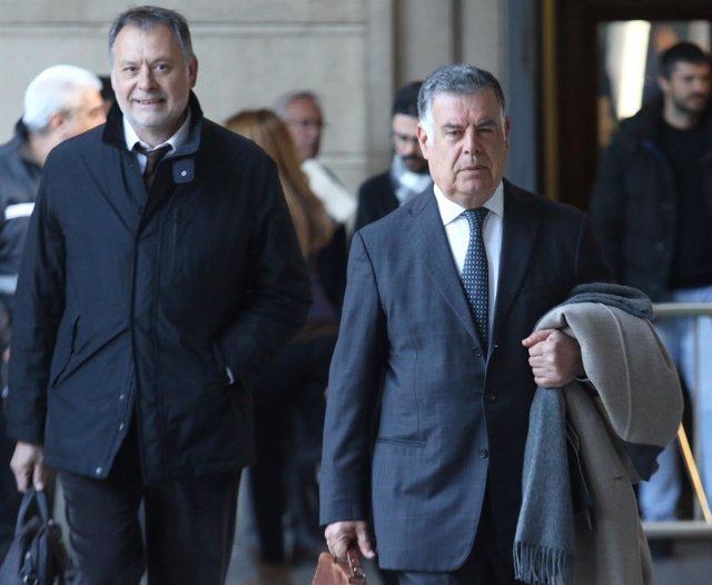 El exconsejero José Antonio Viera llega a la novena sesión del juicio de los ERE