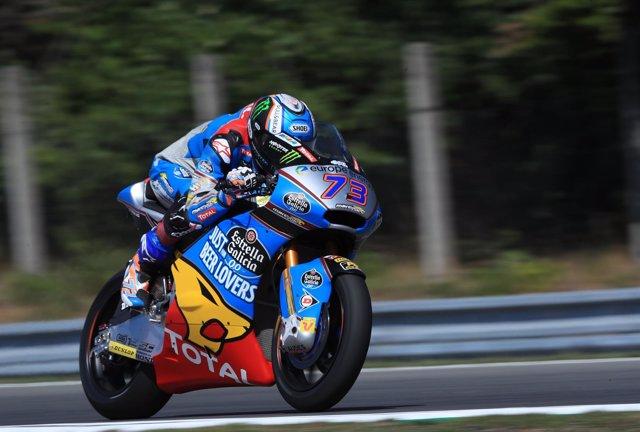El piloto español de Moto2 Àlex Márquez (Estrella Galicia 0,0 Marc VDS)