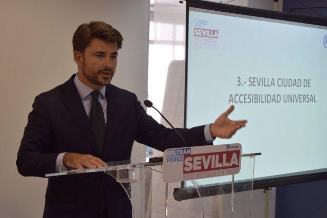Beltrán Pérez presenta sus propuestas