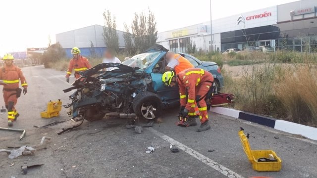 Un hombre fallece en un accidente en Quart de Poblet