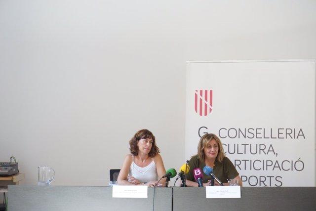Fanny Tur y Marta Fuxà
