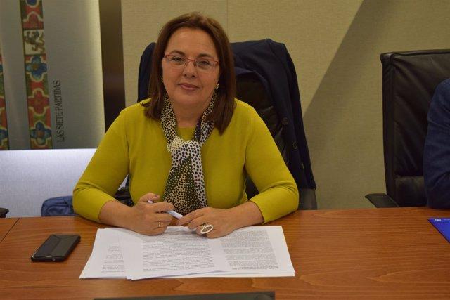 La diputada regional, Elena Ruiz