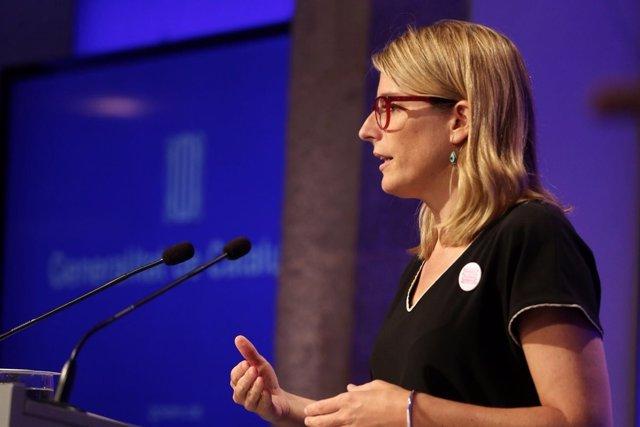 Elsa Artadi, portavoz de la Generalitat