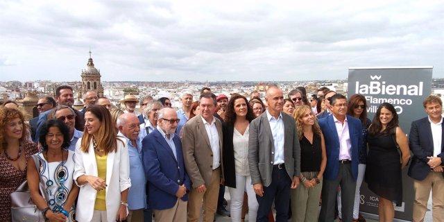 Presentación de la programación de 'La Bienal enciende Sevilla'