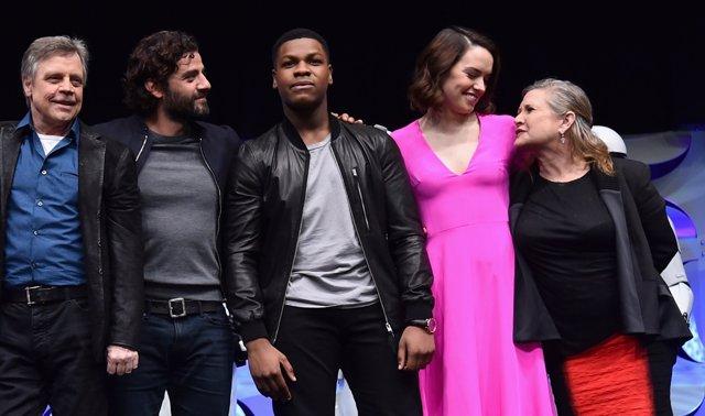 Los protagonistas de Star Wars