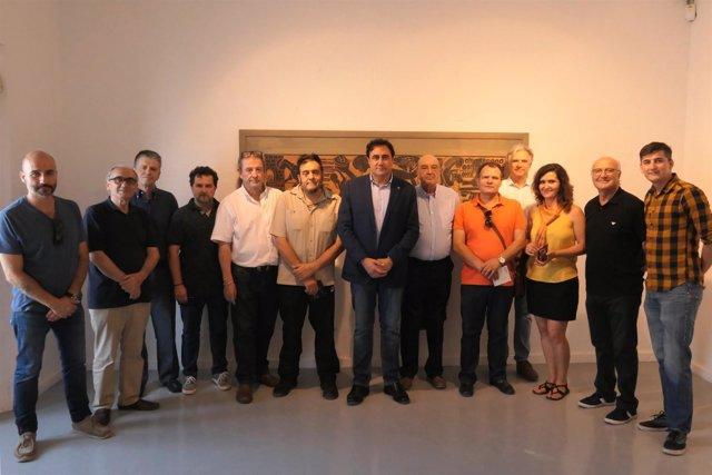 Nota Y Foto Presentación Exposición Pedro Mercedes