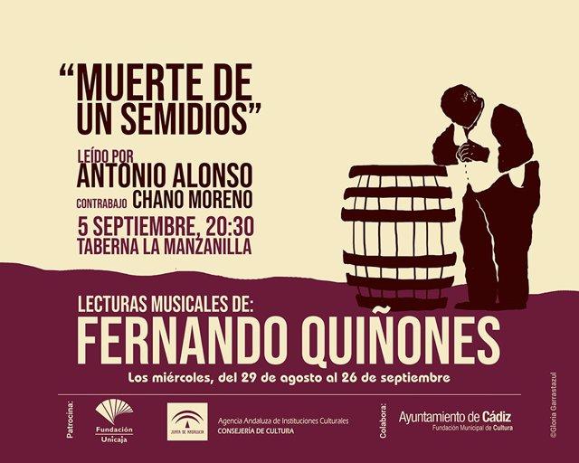 Np + Cartel Lecturas Musicales De Fernando Quiñones