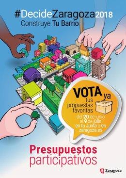 La votación en presupuestos participativos de los distritos finaliza el día 9