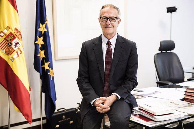 El ministro de Cultura y Deporte, José Guirao