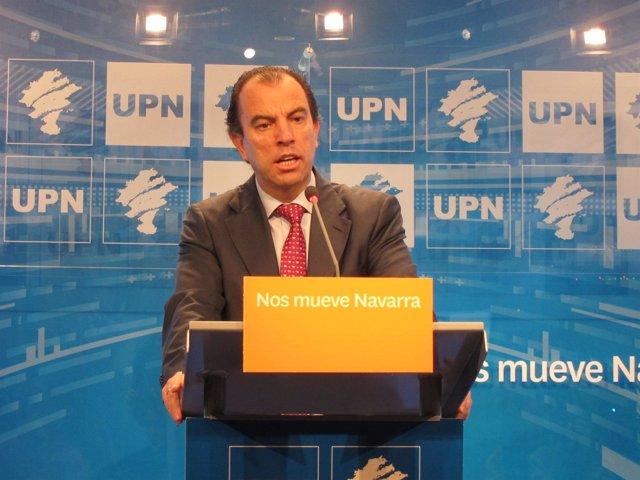 Carlos García Adanero, parlamentario de UPN.