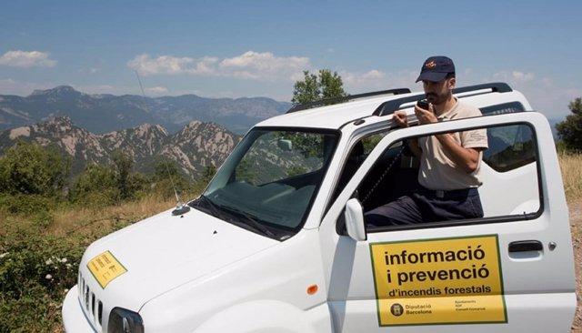 Prevención de incendios forestales en municipios de la Diputación de Barcelona
