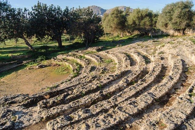 Teatro romano de Pollentia en Alcúdia (Mallorca)