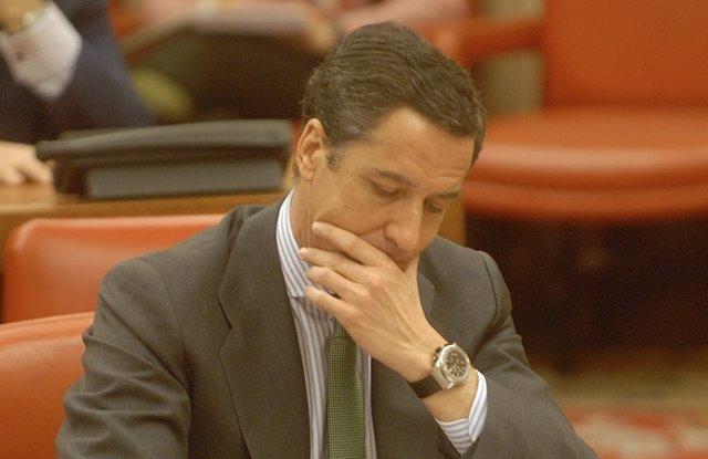 Eduardo Zaplana, en imagen de archivo