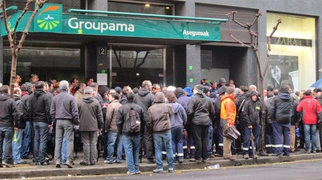 Trabajadores de Guardian llodio, ante el CRL